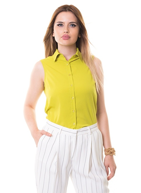 Karaca Kolsuz Gömlek Yeşil